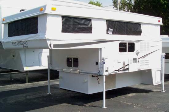 palomino bronco truck camper exterior 1d roaming times rv news and overviews Basic Electrical Wiring Diagrams at bayanpartner.co