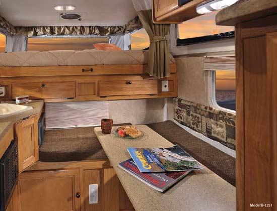 This Homemade Truck Camper Is A Work Of Art. Truck Camper Interior   Rapnacional info