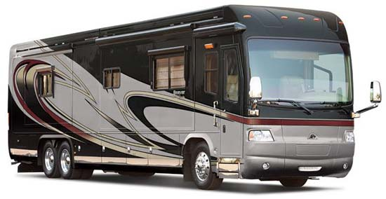 Beaver Patriot Thunder luxury motorcoach exterior