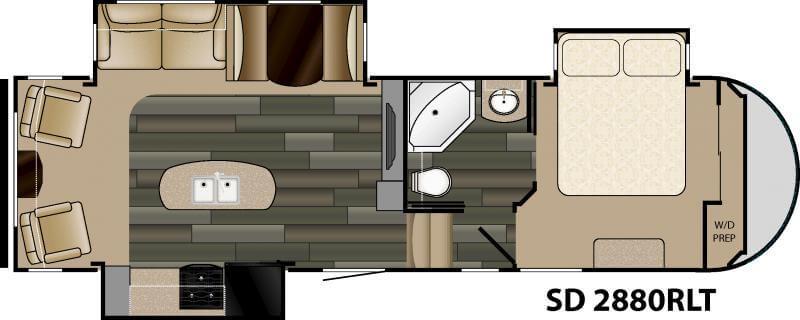 SD2880 floorplan