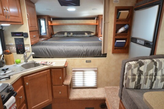 2014 Northwood Manufacturing Arctic Fox Model 811 Truck Camper