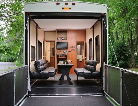 2015 Forest River Vengeance 39b Fifth Wheel Toy Hauler