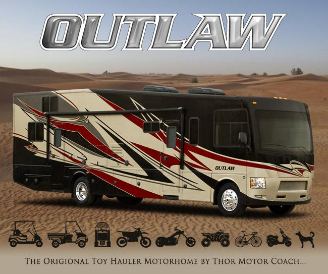 2015 Thor Outlaw Class A Toy Hauler Roaming Times
