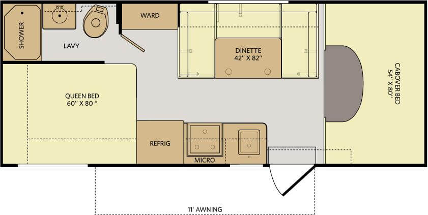fleetwood jamboree floorplan