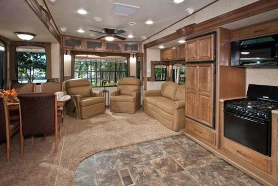 2012 Heartland Bighorn Fifth Wheel