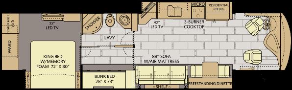 2016-fleetwood-rv-discovery-40g-class-a-motorhome-floorplan