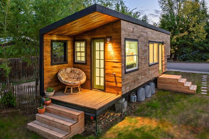 Stunning tiny home for the small-footprint-minded lifestyle