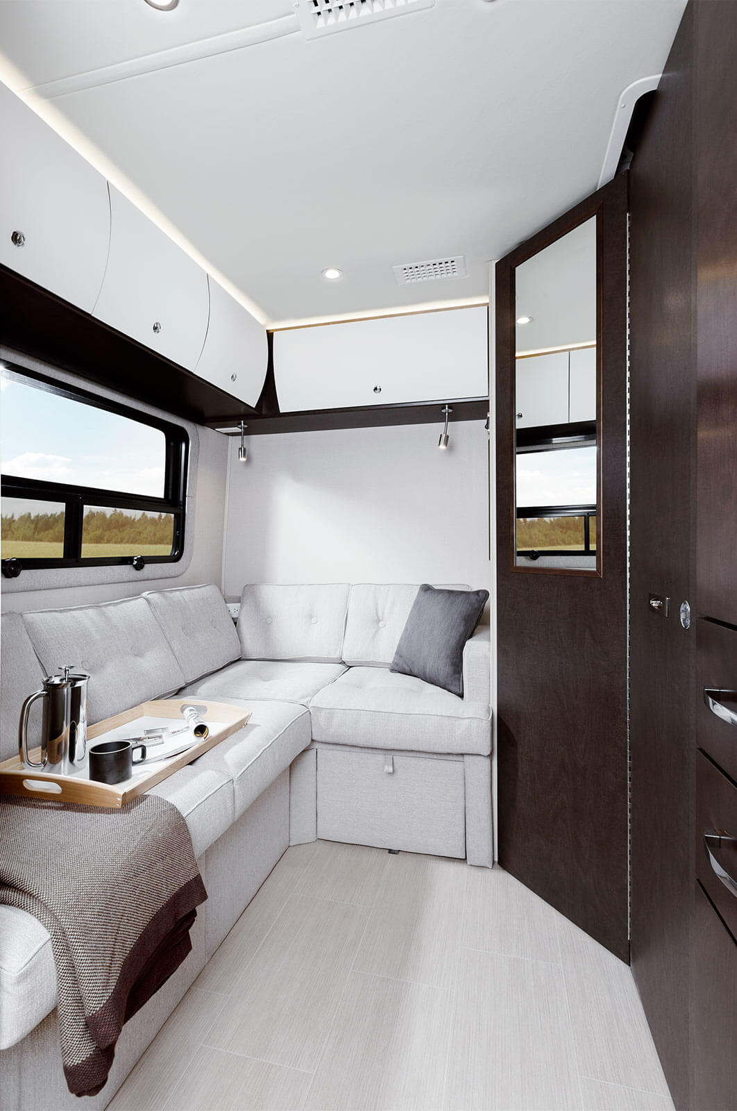 Leisure Travel Vans Transforms The Open Road With The All