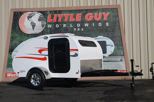 The 2015 5 Wide Little Guy Teardrop Camping Trailer