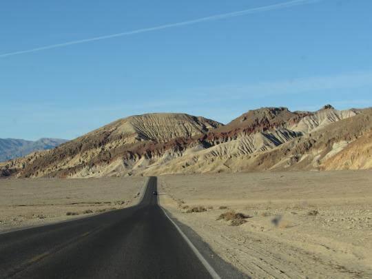 Near Artist's Drive in Death Valley