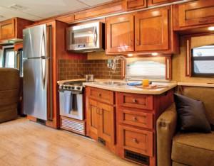 ENDEAVOR Kitchen galley