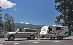 Lance 1575 Travel Trailer Exterior driving