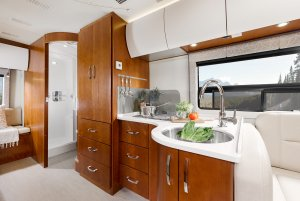 2017 Serenity Leisure Travel Van Class B Galley