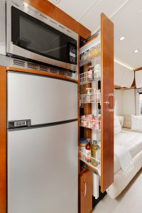 2017 Serenity Leisure Travel Van Class B Kitchen Pantry