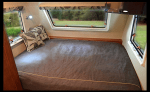 Lance 1575 Travel Trailer Bedroom