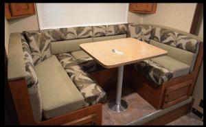 Lance 1575 Travel Trailer Dinette Area