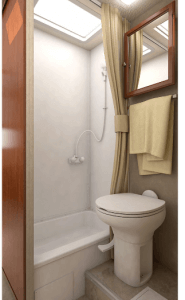 Lance 1575 Travel Trailer Bathroom