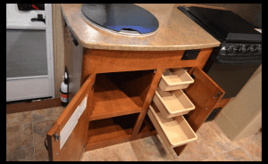 Lance 1575 Travel Trailer Kitchen