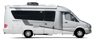 2017 Serenity Leisure Travel Van Class B Silver