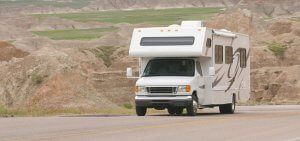 RV Rental Class B Roadway View