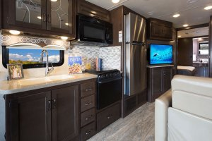2017 Thor Hurricane 35M Interior Galley