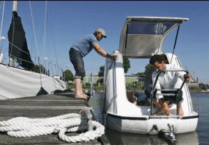 Docked Sealander
