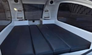 Land & Sea Amphibious RV Sleeping Area