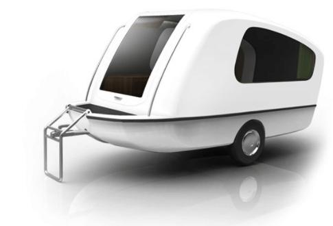 Sealander Caravan Exterior View