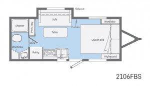 Winnebago Micro Mini Floorplans