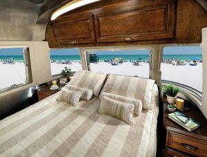2016 Airstream Classic 30 Interior Bedroom
