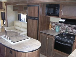 2016 KZ-RV Sportsmen S330IK Galley Kitchen