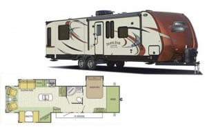 Travel Star 324RLTS Exterior