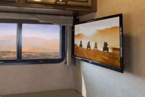 2018 Thor Vegas Interior Flat Screen TV