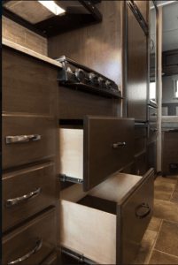 2018 Thor Vegas Kitchen Storage