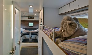 Action Mobil Globecruiser 7500 Sleeping Bunks