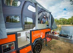 Opus Camper Side View