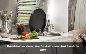 2017 Airstream Sport 16 Kitchen Galley