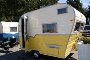 1964 Aladdin Genie Travel Trailer
