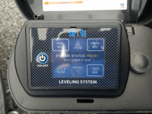 2018 Keystone Outback 332FK Control And Leveling Panel