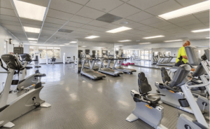Golden Village Palms RV Resort Gym Amenities