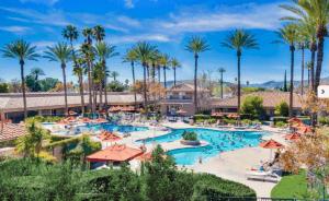 Golden Village Palms RV Resort Pools