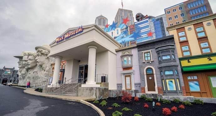 Hollywood Wax Museum in Pigeon Forge
