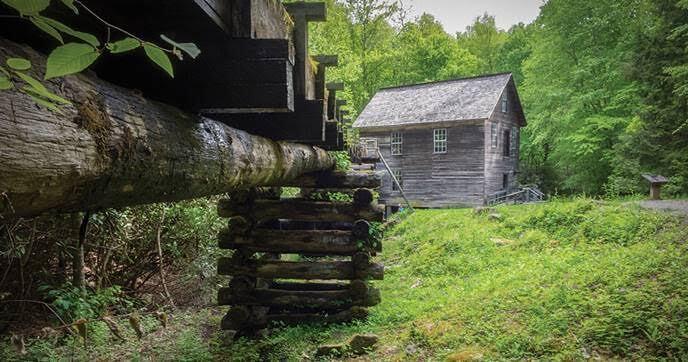 Mingus Mill a historic grist mill
