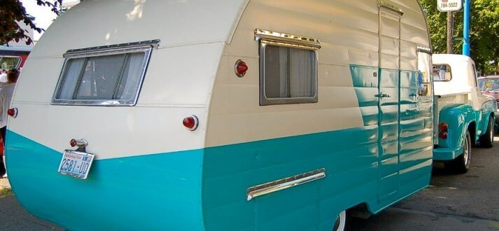 1955 Shasta Travel Trailer