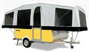 Quicksilver tent camper by Livin' Lite - exterior