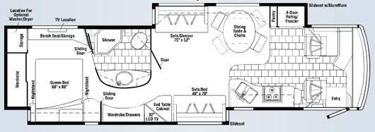 2007 Winnebago View 23b Floor Plan Carpet Vidalondon