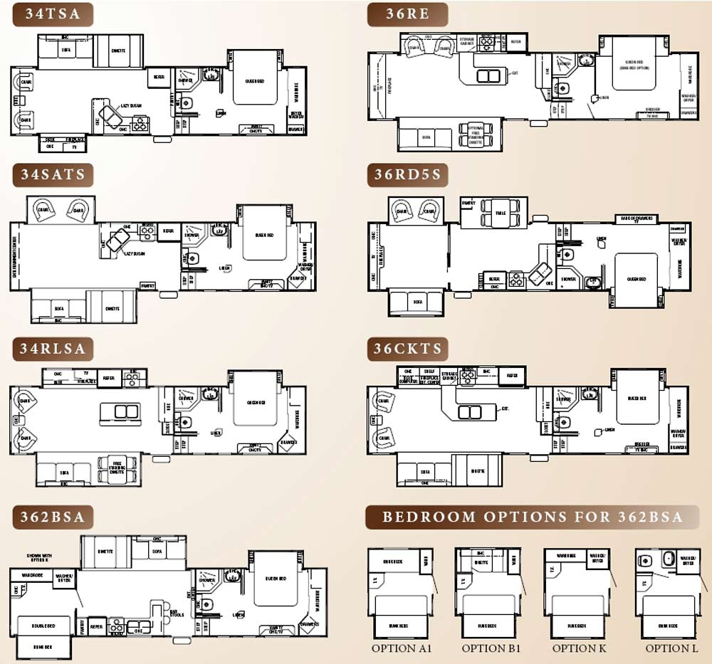 Cedar creek 5th wheel floor plans thefloors co for Cedar home floor plans