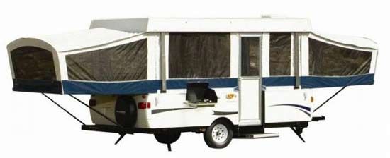 Coleman Americana LE Series camping trailer exterior
