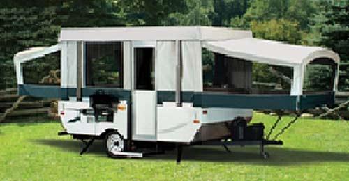 Coleman Destiny Series camping trailer - Yuma exterior