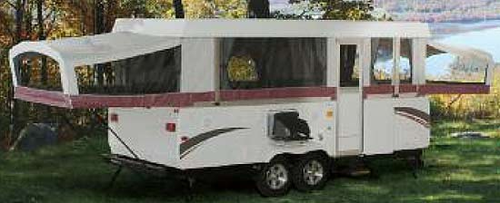 Coleman Highlander Series camping trailer exterior